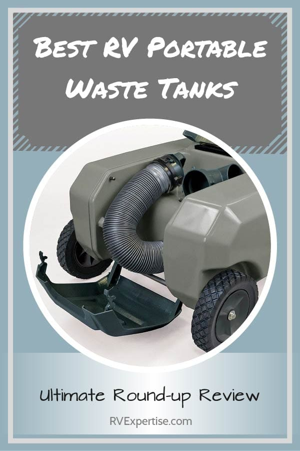 Best Rv Portable Waste Tanks Of 2020 Ultimate Round Up