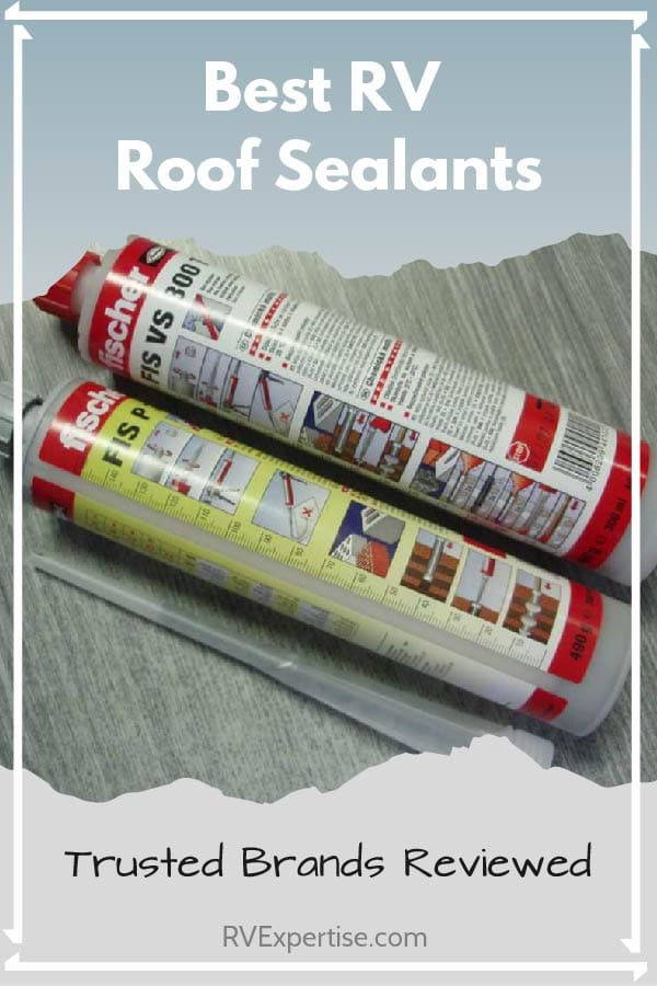 Best RV Roof Sealants of 2019 - Eternabond, Rubber Roof Tape, EPDM