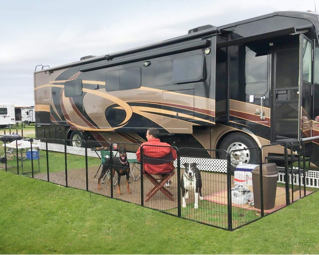 Best Portable Dog Fences For Camping 2020 Complete Round Up Rv Expertise