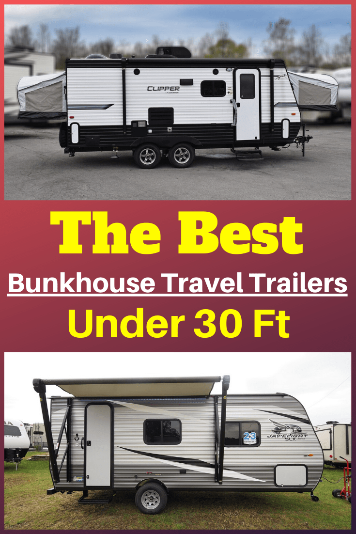Best Bunkhouse Travel Trailers Under 30 Ft - 2020 Buyer's ...